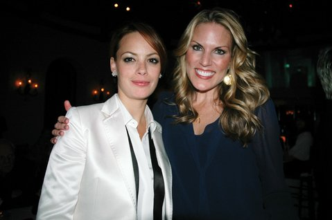 Bérénice Bejo and Jennifer Guess