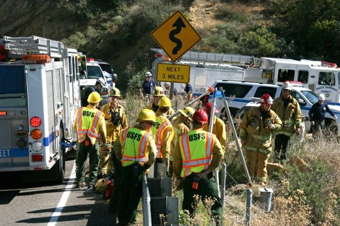 Firefighters respond to Highway 154 incident on February 9