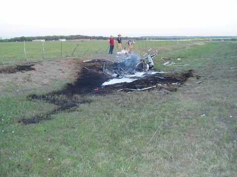 Fatal 2006 crash of Robinson R44 model in Texas.
