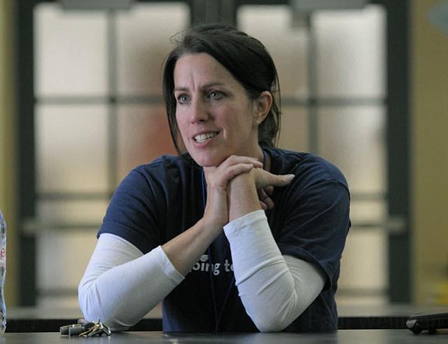 Sally Kingston, principal of Harding Elementary