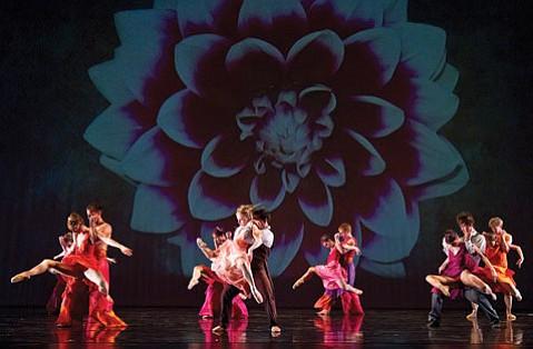 State Street Ballet's dancers paired off for the finale of Josie Walsh's <em>The Secret Garden</em>.