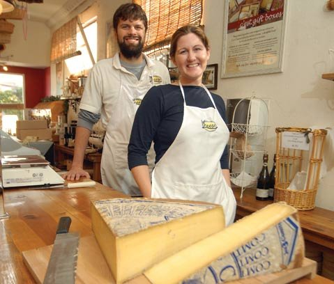 Cest Cheese owners Michael and Kathryn Graham