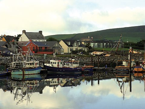Dingle, a wee town on the west coast of Ireland, is one of Santa Barbara's sister cities? Dingle is a major fishing port and part of the Gaeltacht region, which means Irish is the predominantly spoken language in the area, followed by English. Dingle is in County Kerry.