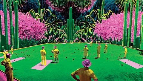 """Lawn Bowlers – Life"" by Jane Gottlieb"