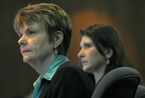 ADMHS director Ann Detrick