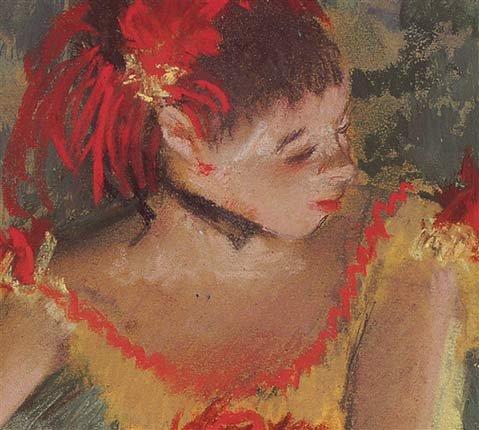 """""""Danseuse Faisant des Pointes"""" by Edgar Degas"""