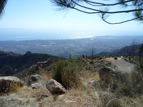 View from La Cumbre Peak