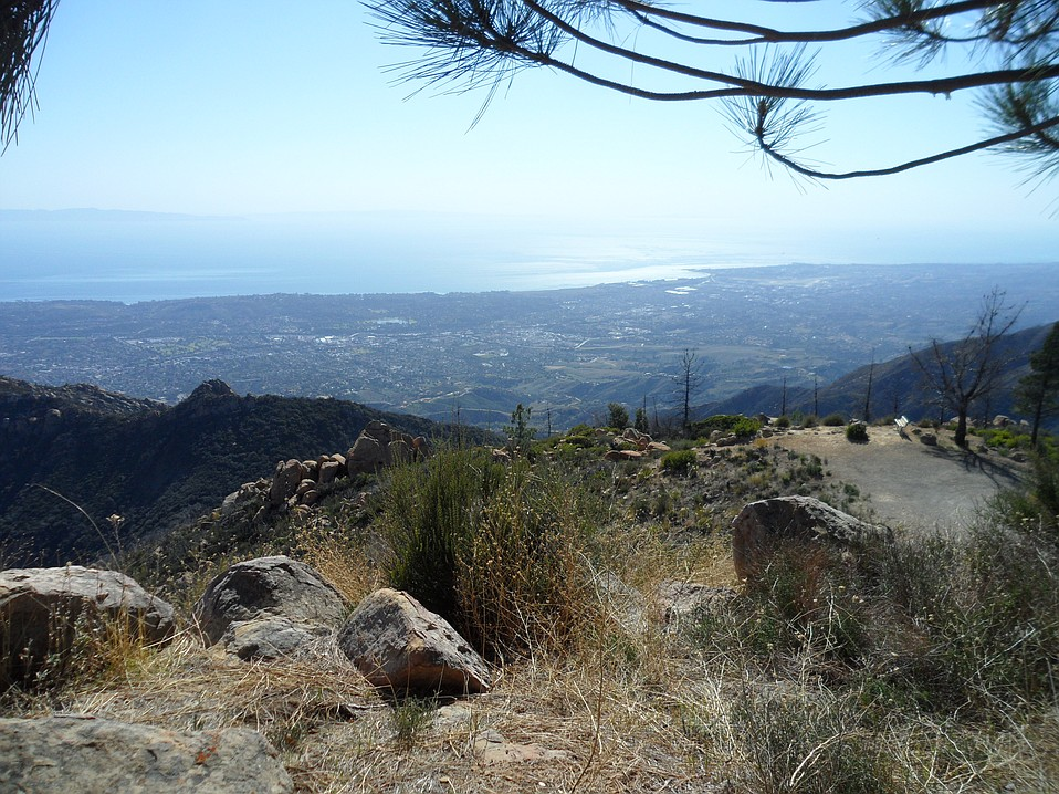 View from La Cumbre Peak