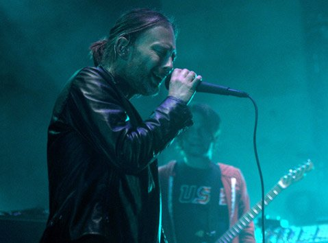Radiohead at the Santa Barbara Bowl