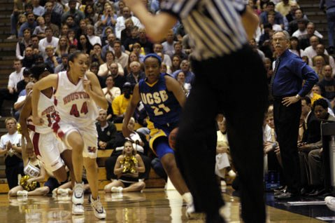 Mark French (pictured right, coaching a 2004 game against Houston) will be inducted into the UCSB Athletics Hall of Fame next Saturday at the All Gaucho Reunion.