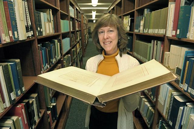 President of the Santa Barbara County Genealogical Society Mary Hall