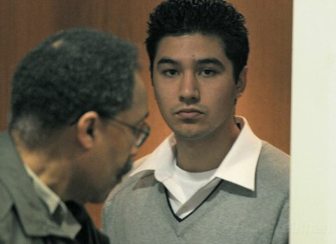 Benjamin Vargas leaves the courthouse after he was found guilty of voluntary manslaughter (May 1, 2012)