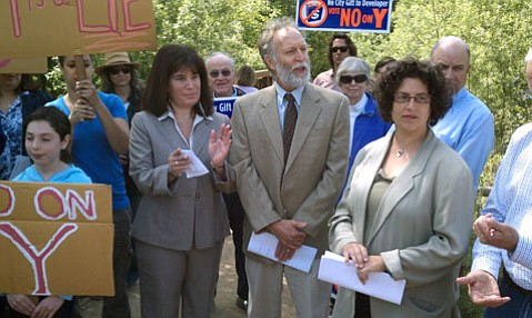 May 7, 2012 No on Measure Y rally