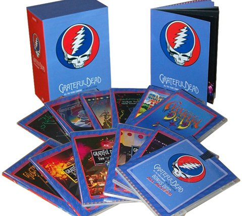 All The Years Grateful Dead DVD Box Set