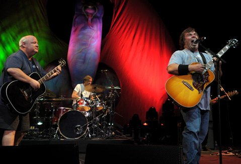 Tenacious D at the Santa Barbara Bowl
