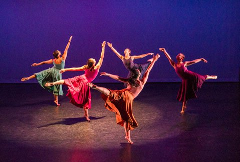 UCSB Dance Company at Center Stage Theater