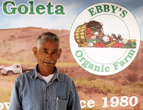 Mike Iniguez of Ebby's Organic Farm