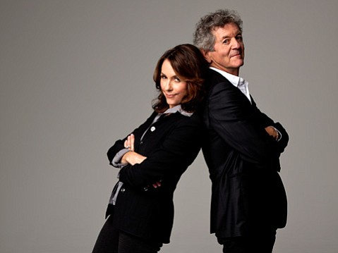Mary Karr and Rodney Crowell