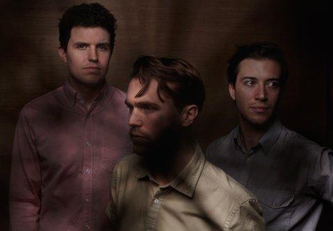 Brooklyn's Lemonade is (from left) Ben Steidel (synths, bass), Callan Clendenin (vocals), and Alex Pasternack (drums, programming).