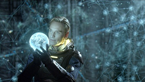 Ridley Scott's Alien precursor <em>Prometheus</em> features awe-striking visual effects and an impressive turn by Michael Fassbender as an android.