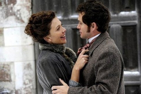 Maggie Gyllenhaal and Hugh Dancy star in <em>Hysteria</em>, a comedy of manners based on the Victorian origins of the vibrator.