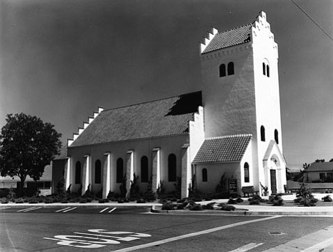 Bethania Lutheran Church in Solvang (built in 1928).