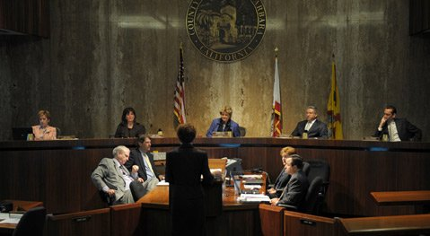 County Board of Supervisors meeting on June 12.