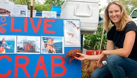 Sarah Rathbone of Crabulous!