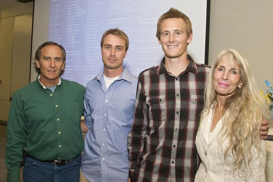 Left to right: Matt Ransom, John Scott, James Stanfill, Candace Ransom