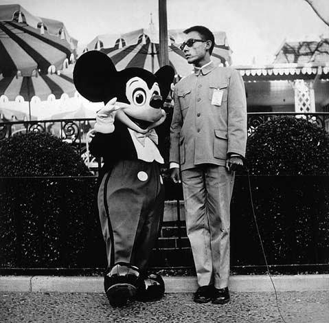 """Disneyland, CA, 1979"" by Tseng Kwong Chi."