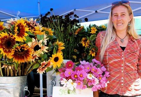 Roxanne Renner of Santa Rita Organic Flower Farm