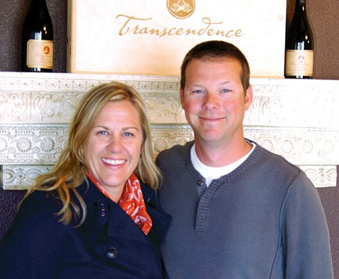 "Sara and Kenneth ""Joey"" Gummere of Transcendence Wines"