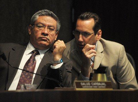 Salud Carbajal and Steve Lavagnino