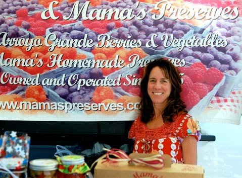 Lori Heal of Mama's Preserves