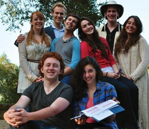 Cast of <em>Our Town</em>
