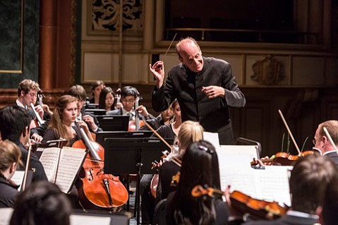 Larry Rachleff , Academy Festival Orchestra at the Granada Theatre.
