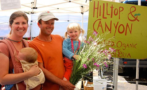The Abbotts of Hilltop & Canyon Organic Farms