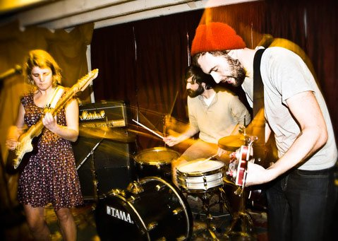 San Fran's Joyride! brings their buoyant pop punk to the Biko Co-op Garage on July 7.