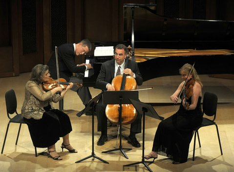 The Music Academy's faculty artists and special guests perform beloved favorites and lesser-known treasures of the chamber repertoire. Kathleen Winkler (violin), Cynthia Phelps, (viola), Alan Stepansky (cello), Warren Jones (piano).