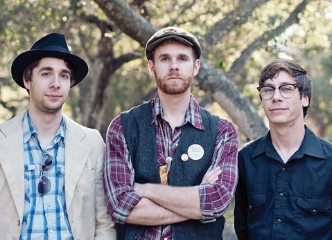 Saint Anne's Place: (from left) Sam Cole, Jacob Cole, and Joel Martin.