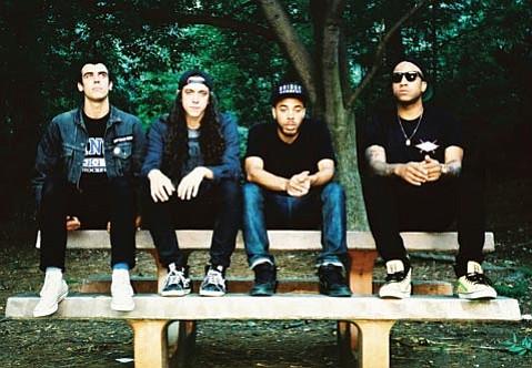 Cali Punk Rockers Trash Talk.