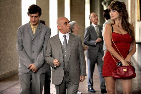 Penélope Cruz stars in one of the four vignettes making up Woody Allen's latest, <em>To Rome with Love</em>.