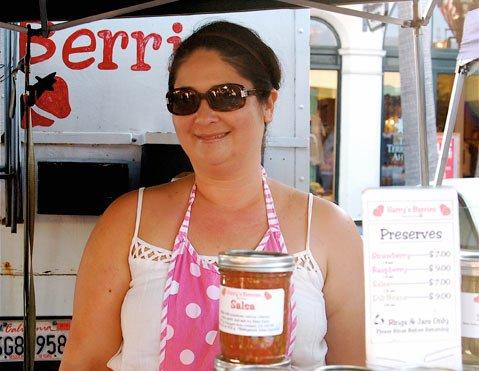 Jennifer Gean of Harry's Berries