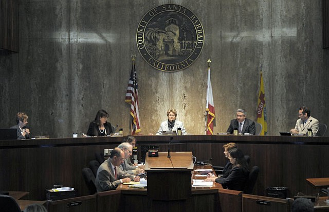 <strong>CONSTERNATION OVER CASH:</strong>  The Board of Supervisors, which met this Tuesday, has been struggling to reach an agreement on ideas to generate revenue.