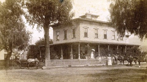 The Upham Hotel, at 1404 De la Vina Street