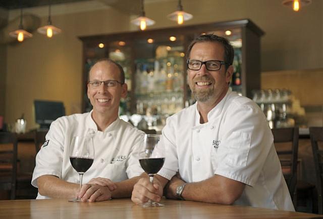 Jeff (left) & Matt Nichols of Sides Hardware and Shoes in Los Olivos July 20, 2012