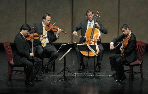 L to R Daniel Ching, William Fedkenheuer, Joshua Gindele, and John Largess