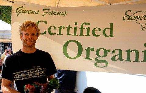 Brody Thompson of John Givens Farm