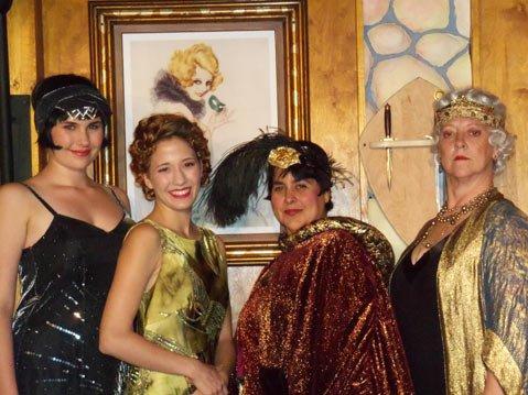 The women of <em>Postmortem</em> (from left): Emily Parsons, Rachelle Clark, Cybele Foraker, and Gitte.