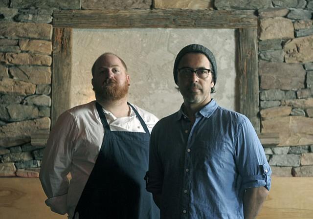 Chef Weston Richards and restaurateur Alvaro Rojas cofounded Spare Parts.